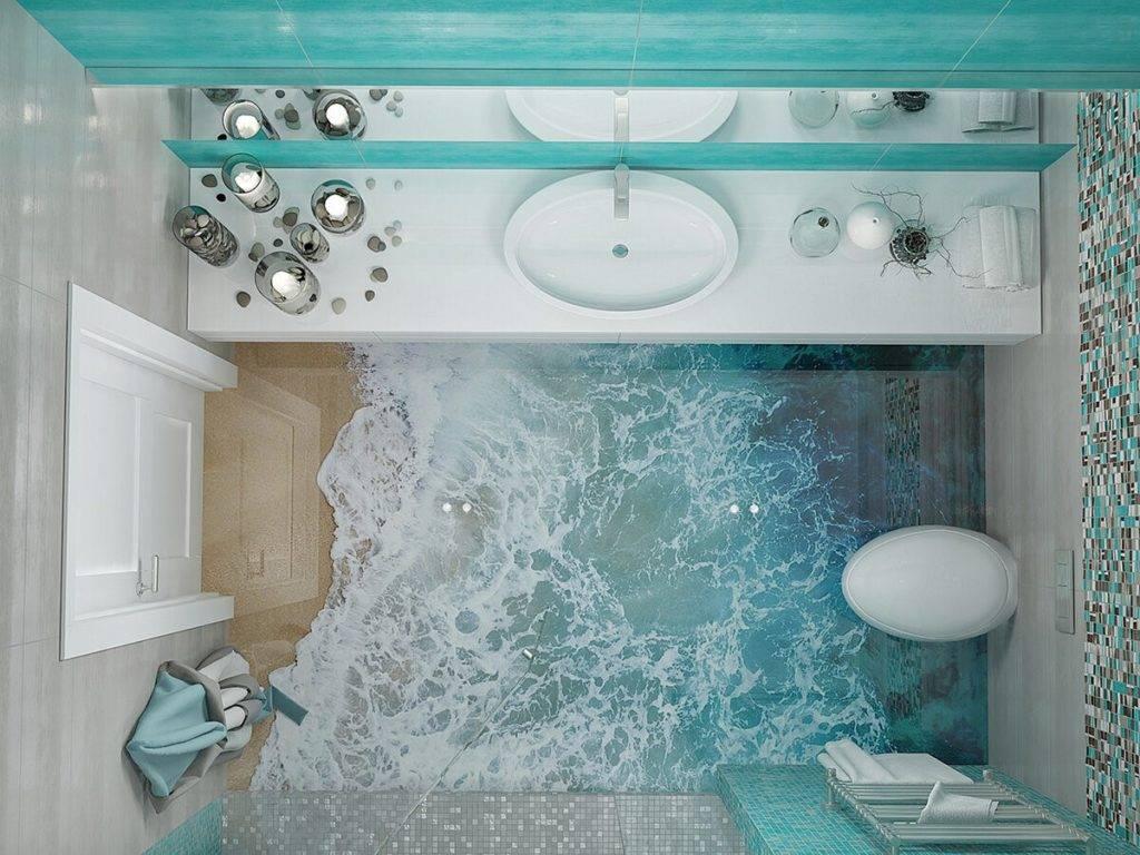Дизайн интерьера ванной в морском стиле – тонкости и нюансы оформления