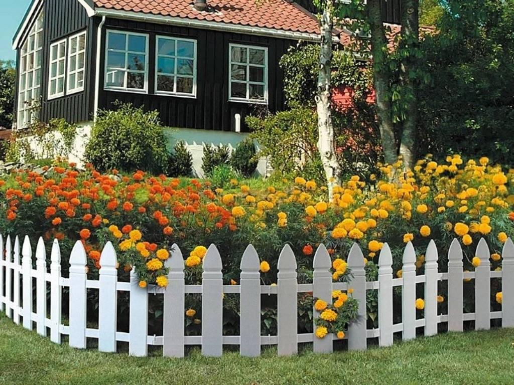 Декоративный заборчик своими руками - пошаговая инструкция как построить и поправить забор