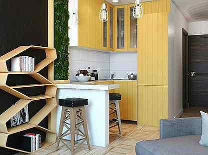 Дизайн маленькой квартиры студии: забудьте о скучном интерьере