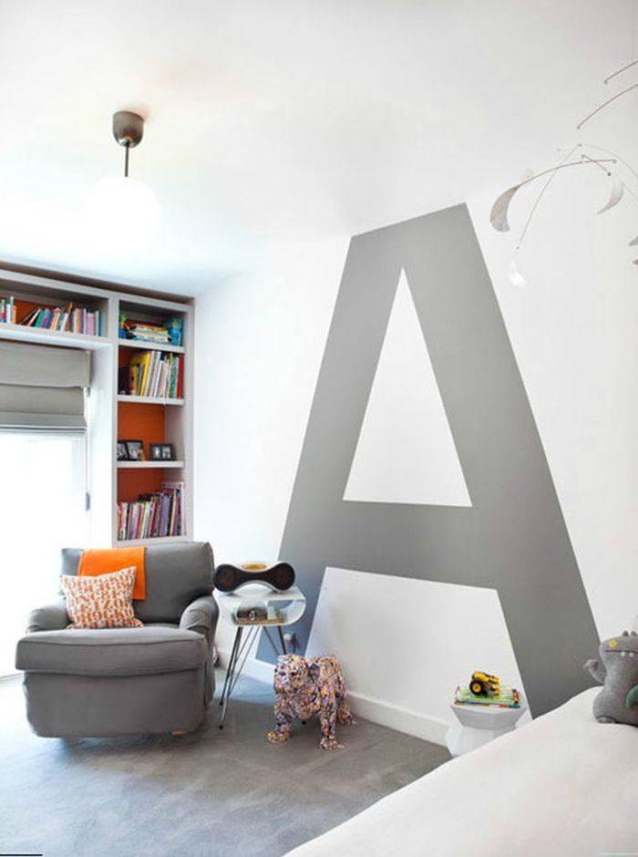 Декоративные буквы для украшения интерьера +56 фото