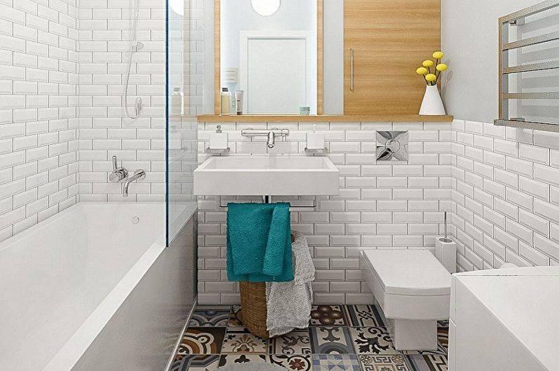 Ванная в скандинавском стиле (66 фото): дизайн интерьера маленькой комнаты 3 и 4 кв. м, идеи оформления белой ванной, выбор аксессуаров