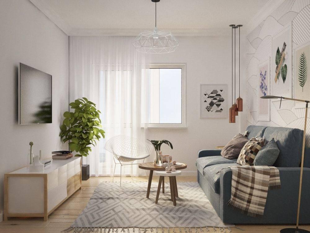 10 квартир в скандинавском стиле, 80 фото