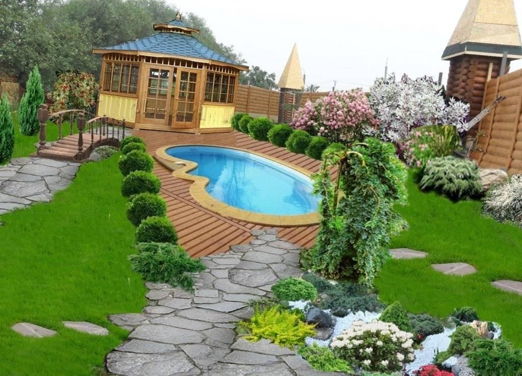 Озеленение двора (150 фото) - инструкция, как сделать своими руками. обзор лучших идей с реальными примерами
