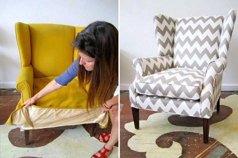 Как перетянуть стул своими руками в домашних условиях: мастер классы, пошаговая инструкция