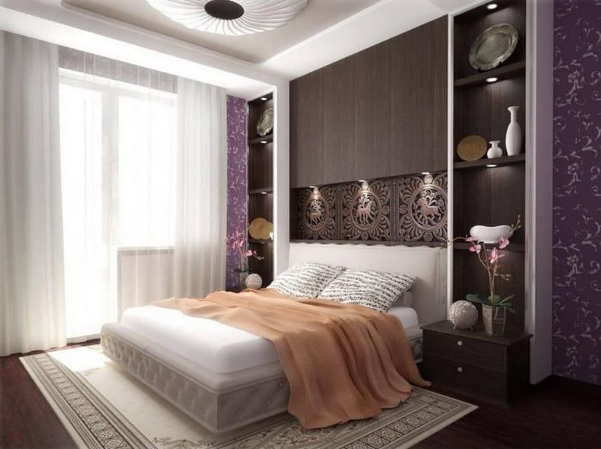 Особенности планировки и дизайна спальни 15 м²
