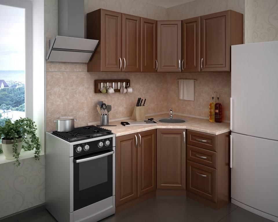Гарнитур на маленькой кухне: быть или не быть - 130 фото примеров