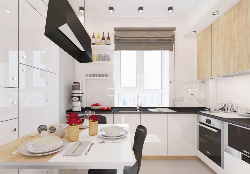 Планировка кухни: 6 вариантов, удачные примеры дизайна, советы по расстановке мебели (100 фото)