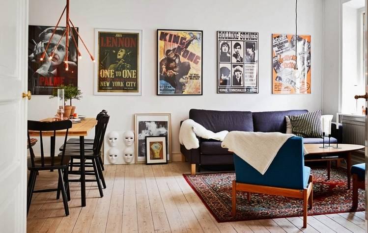 Студия в стиле лофт (57 фото): дизайн проекта маленькой квартиры