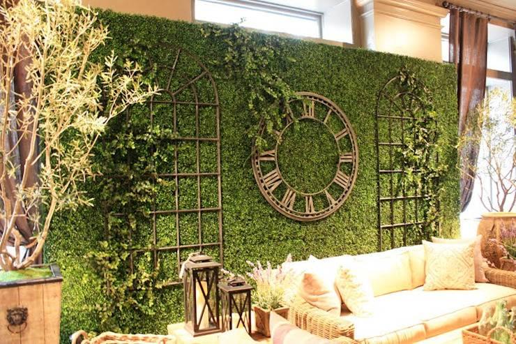 Декоративный стабилизированный и живой мох в интерьере: панно, стены из декоративного цветущего мха - 25 фото