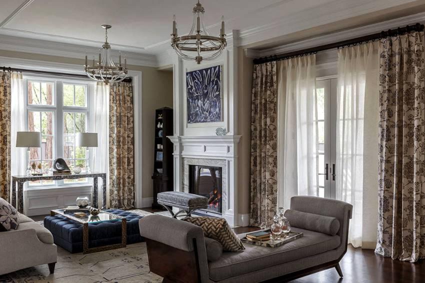 Классические шторы - топ-170 фото и видео варианты дизайна комнаты с классическими шторами. подходящие ткани, цвета, оттенки и фактуры
