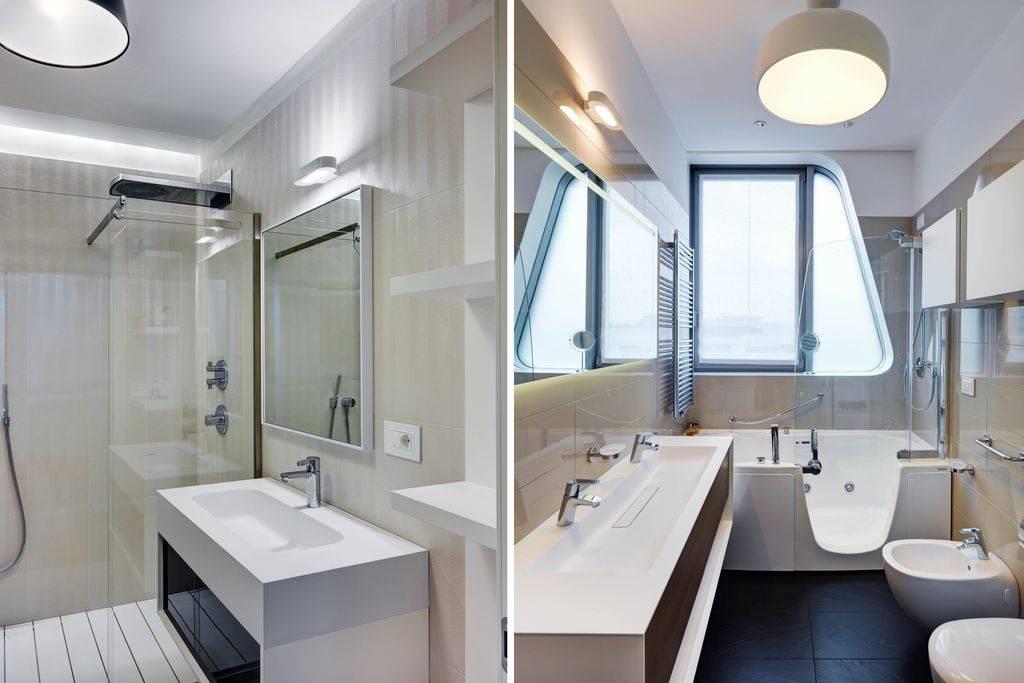 Маленькая ванная: современные варианты дизайна и декора небольшой ванной комнаты (150 фото удачных примеров)