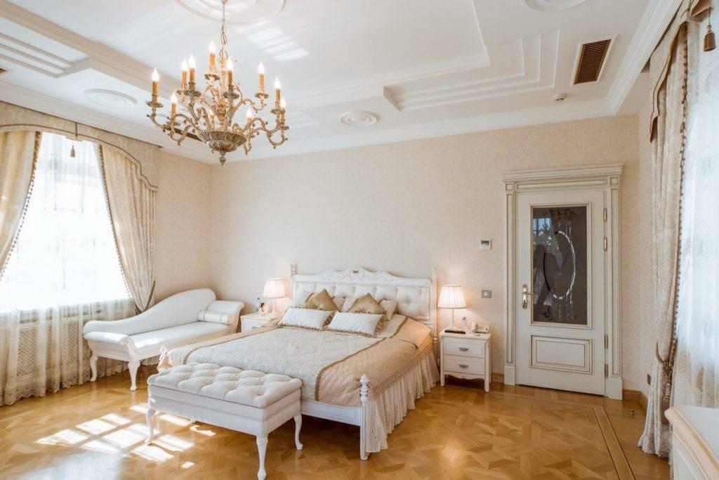 Дизайн спальни в светлых тонах — фото удачных интерьеров