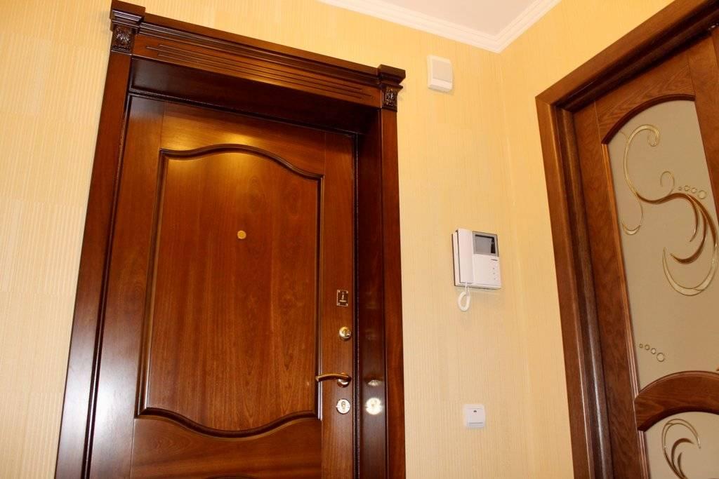 Как отделать двери?