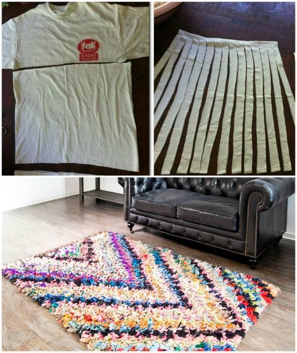 30 способов сделать самые уютные коврики своими руками