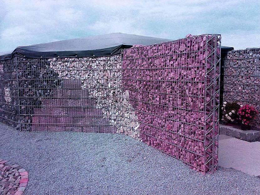 Габионы — инструкция по установке и примеры современного дизайна (100 фото-идей)
