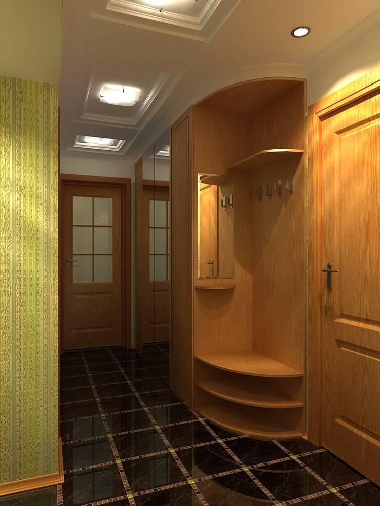 Ремонт прихожей в панельном доме: дизайн в картинках, отделка кухни в брежневке
