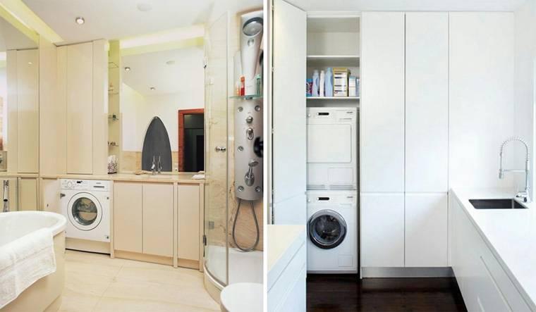 Как выбрать шкаф для стиральной машины в ванной