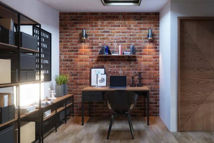 Кирпич на стене - 14 лучших идей дизайна, которые вас порадуют (+44 фото) | дизайн и интерьер