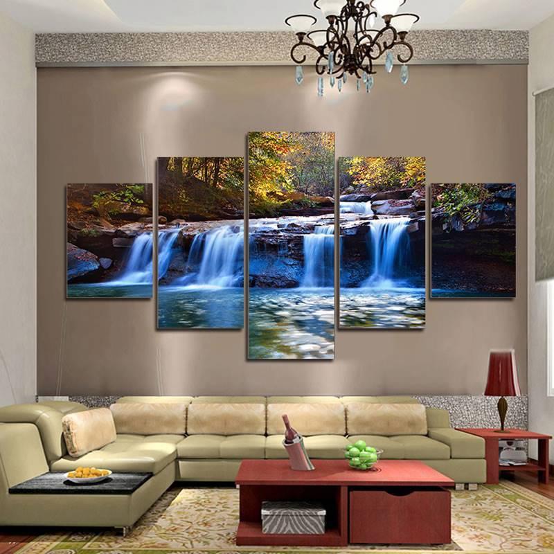 Художественная роспись стен в интерьере: декоративная ручная живопись  - 34 фото