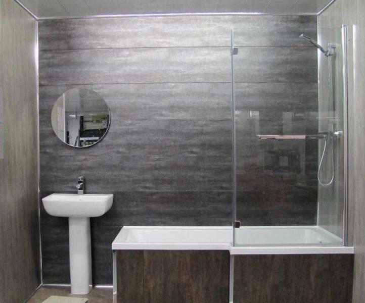 Отделка ванной комнаты пластиковыми панелями: фото и советы