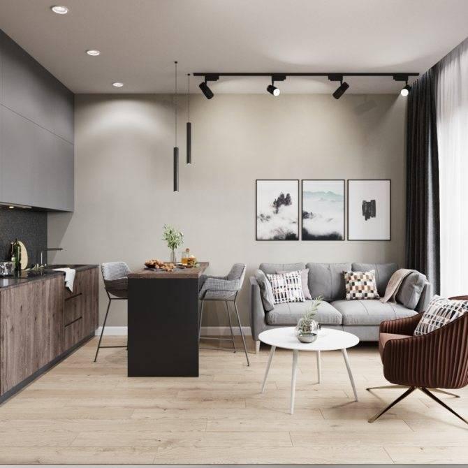 Как зонировать квартиру-студию 25–30 кв.метров: реальные фото и советы профессионалов