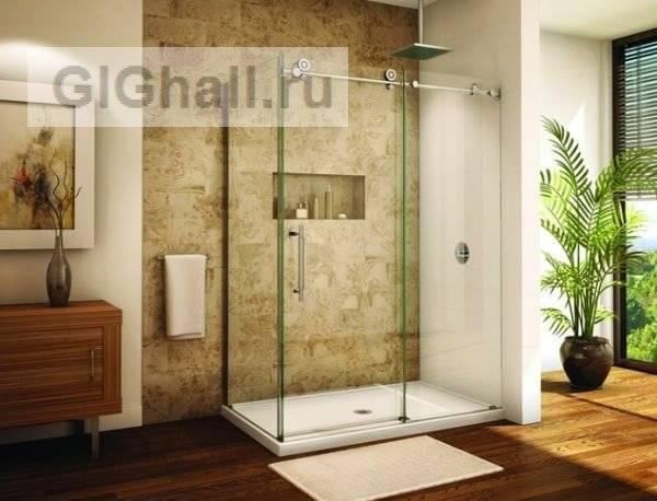 Фото ванных с душевыми кабинами: как разместить и ванную и душ, на 2 м