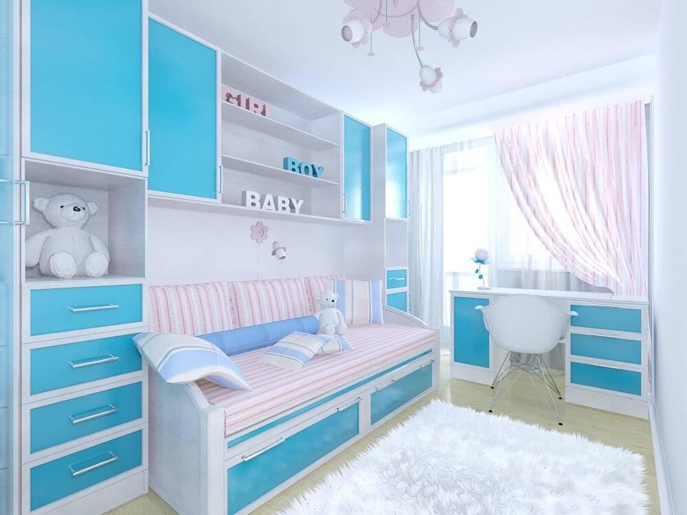 Как обустроить детскую комнату площадью 10 квадратов, выбор стиля и размещение мебели - 36 фото